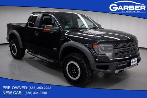 Pre-Owned 2014 Ford F-150 SVT Raptor 4WD