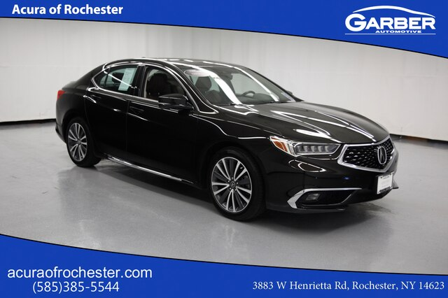 Certified Pre-Owned 2018 Acura TLX 3.5 V-6 9-AT P-AWS with Advance Package