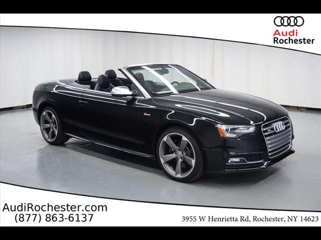 PreOwned Audi S T Premium Plus Cabriolet In Rochester - Audi rochester ny
