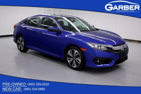 Pre-Owned 2018 Honda Civic EX-T FWD 4D Sedan