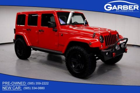 Pre-Owned 2015 Jeep Wrangler Unlimited Sahara & 4WD