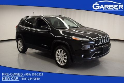 Pre-Owned 2016 Jeep Cherokee Limited & 4WD