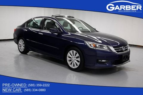 Pre-Owned 2015 Honda Accord EX-L FWD 4D Sedan