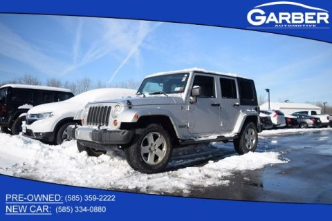 Pre-Owned 2009 Jeep Wrangler Unlimited Sahara & 4WD