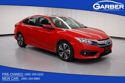 Pre-Owned 2016 Honda Civic EX-T FWD 4D Sedan