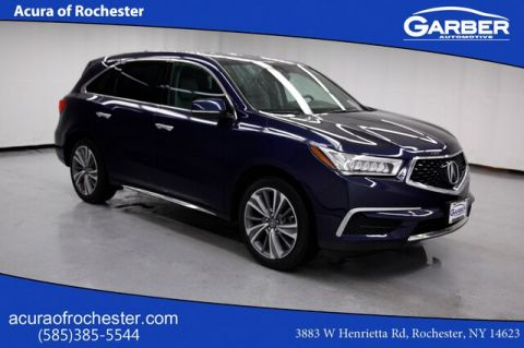 Certified Pre-Owned 2017 Acura MDX 3.5L w/Technology Package