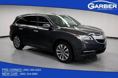 Certified Pre-Owned 2016 Acura MDX SH-AWD with Tech., Ent. and AcuraWatch Plus Packages
