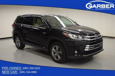 Pre-Owned 2017 Toyota Highlander Hybrid Limited