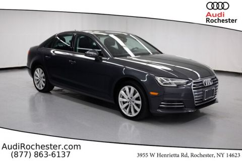 Pre-Owned 2017 Audi A4 2.0T Premium w/Navigation