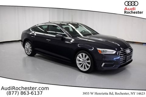 Pre-Owned 2018 Audi A5 2.0T Premium w/Navigation