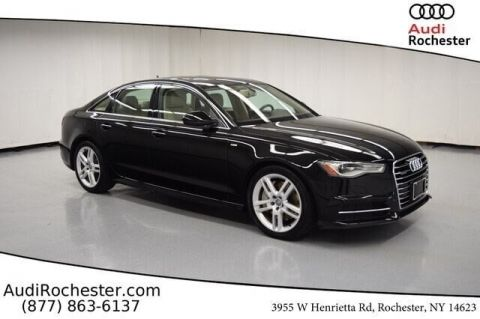 Pre-Owned 2016 Audi A6 2.0T Quattro Premium Plus Sedan