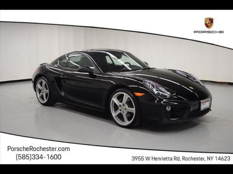 Pre-Owned 2016 Porsche Cayman Base
