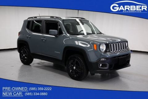 Pre-Owned 2017 Jeep Renegade Latitude & 4WD